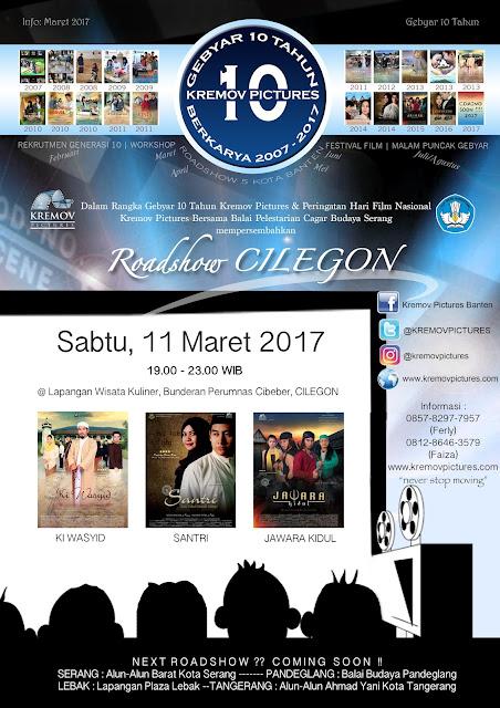 Kremov Roadshow Keliling Banten, Cilegon Kota Pertama