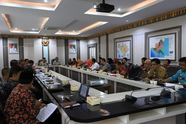 Pemkab Lambar Gelar FGD Penguatan Konsep Kabupaten Literasi