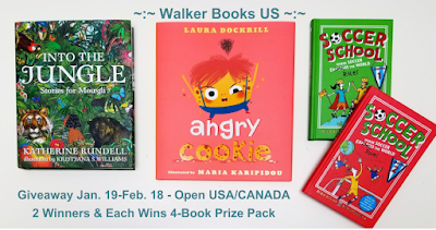 Walke Books US 4-book #giveaway