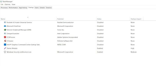perbaiki startup windows 10 untuk meningkatkan peforma windows 10