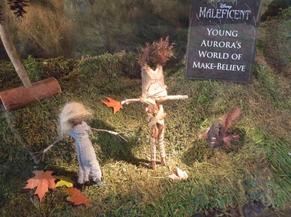 Young Princess Aurora toy props Maleficent
