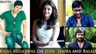 Rj Balaji is hilarious, Simha's comedy timings, Jiiva is fun-loving – Kajal Aggarwal
