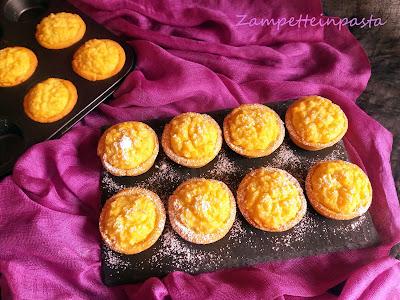 Budini di riso con pasta frolla