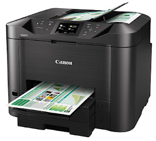but when I read the alert close virus software inwards roughly other review Canon Maxify MB5450 Driver Download