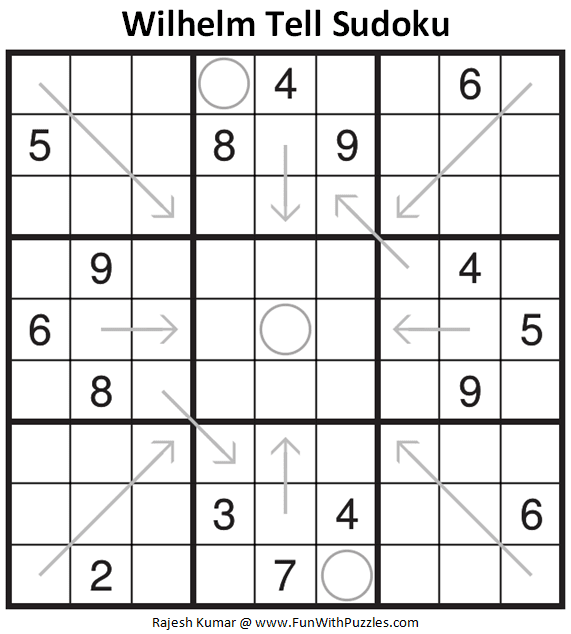 Wilhelm Tell Sudoku Puzzle (Fun With Sudoku #326)