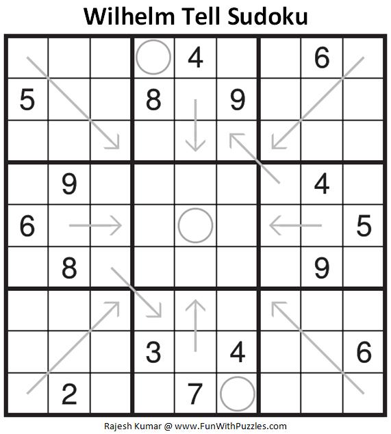 Wilhelm Tell Sudoku Puzzle (Fun With Sudoku #326)