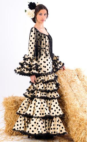 traje flamenca de lunares colección 2016 Margarita Freire