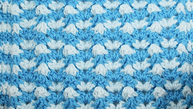 3 - Crochet Imagen Puntada de ondas a crochet y ganchillo por Majovel Crochet
