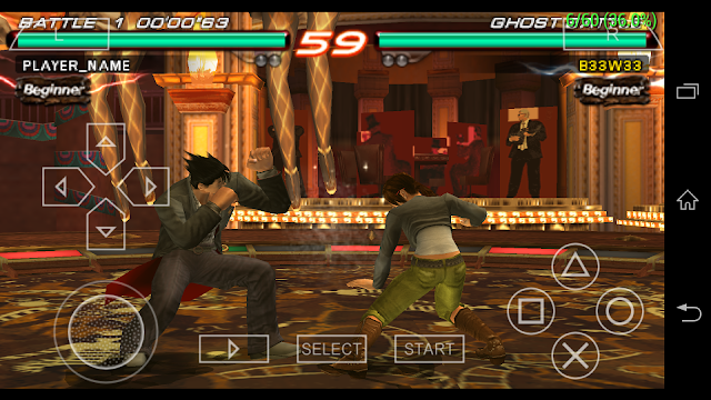 Tekken 6 game play in android