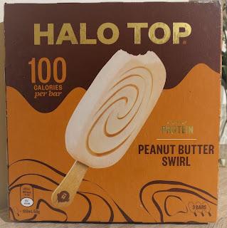 Halo Top Peanut Butter Ice Cream Sticks