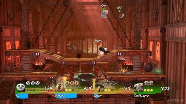 Kung fu panda showdown of legendary legends online games