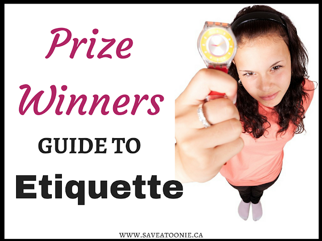 Prize Winners Guide to Etiquette