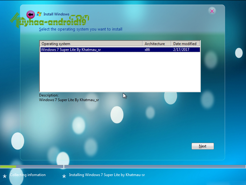 Windows 7 Super Lite Edition Version 2017 (x86) kuyhaa