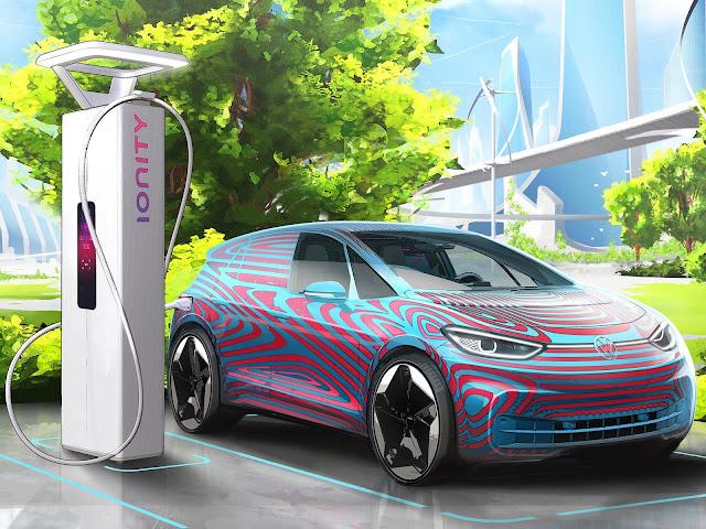 Volkswagen planeja rede de recarga de elétricos na Europa