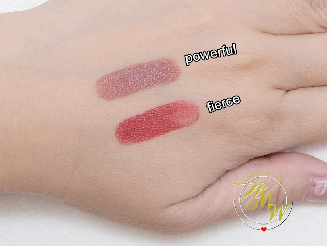 a photo of Generation Happy Skin Active Love Your Lips Intense Color Butter Balm Review in shades Fierce and Powerful.