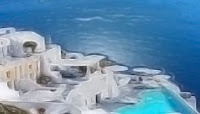 Katikies Hotel, Oio, Santorini, Greece