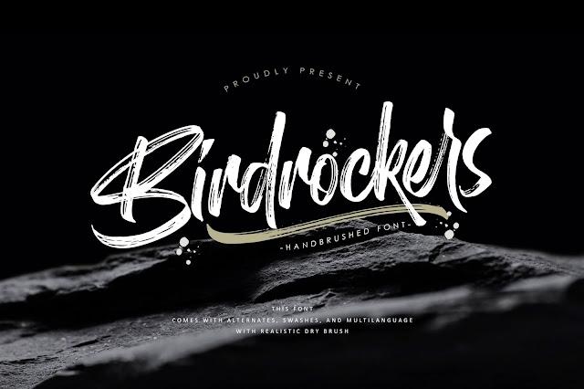 Birdrockers Download Font Free