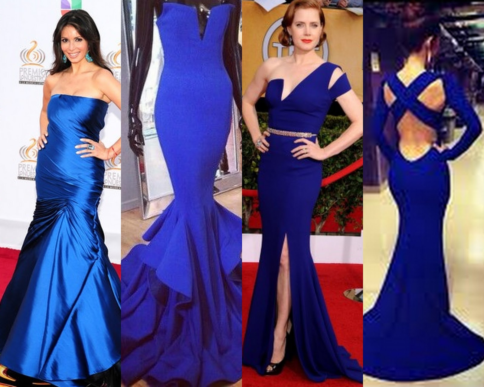 The Royal Blue Gown Designs Are Hot Fashion Trends Inspired By Miss