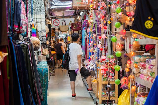 10 Destinasi Wisata  Di Bangkok Yang Wajib Dikunjungi-chatuchak market bangkok