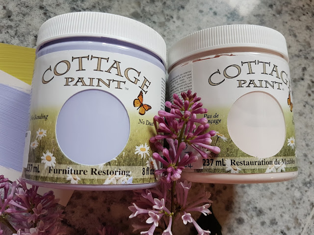 Cottage Paint lavender and perfect pink