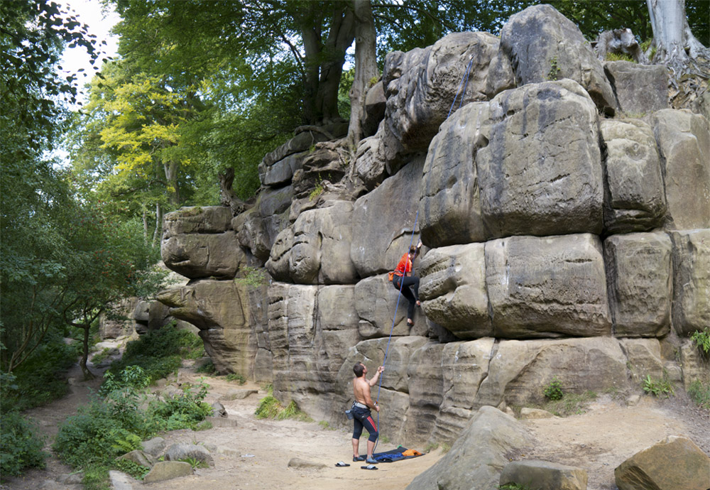 Southern Sandstone Climbs Climbing Areas