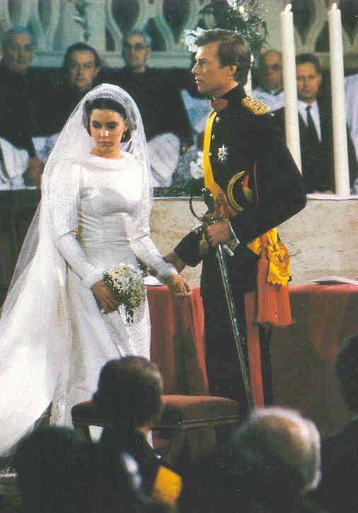 Royalement Blog Retour sur le mariage du grand,duc héritier Henri et de  Maria Teresa