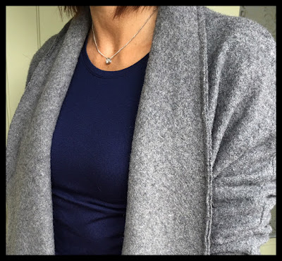 My Midlife Fashion, Zara Wool Coat, Kettlewell Colours Silky crew neck