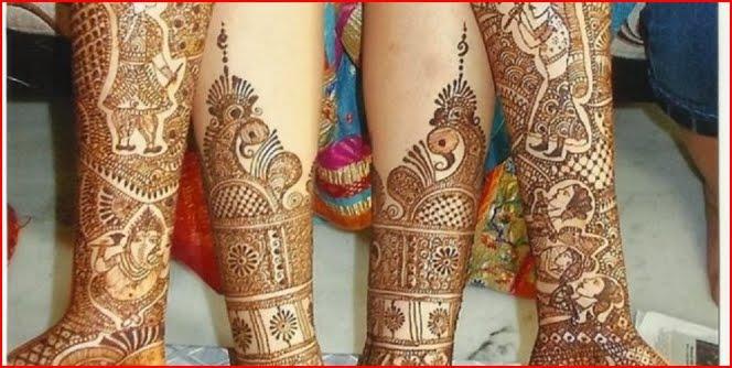 Rajasthani Bridal Mehndi Designs : Bridal mehndi designs for full hands feet
