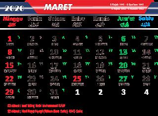 MARET 2020 PNG
