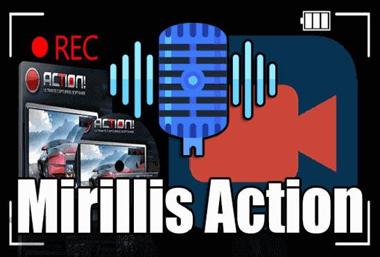 تحميل وتفعيل برنامج Mirillis Action لتصوير سطح المكتب والالعاب بجودة عالية