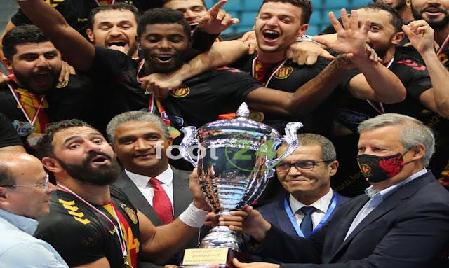 الترجي الرياضي التونسي بطل تونس في كرة اليد للمرة 33 في تاريخه