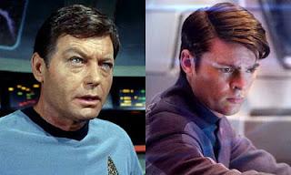 Star Trek_DeForest Kelley and Karl Urban