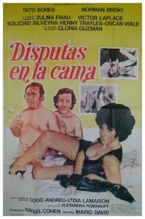 Disputas en la cama (1972) Comedia con Tato Bores
