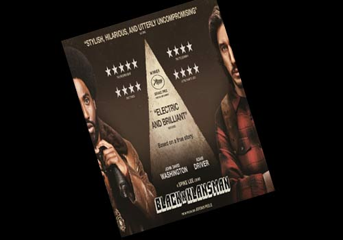 BlacKkKlansman 2018 Review Poster