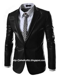 Gambar Jaket Kulit Formal Resmi Pria