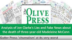 New Jon Clarke/OlivePress blog