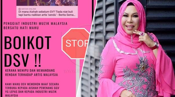 Label artis lama sendu, penggiat industri muzik boikot Datuk Seri Vida