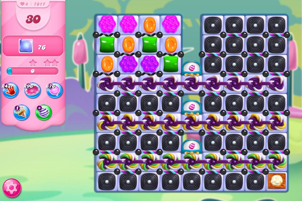 Candy Crush Saga level 7817