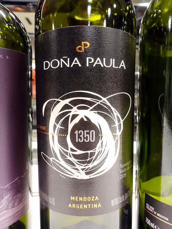 Dona Paula 1350 Red Terroir Blend 2015 (89 pts)