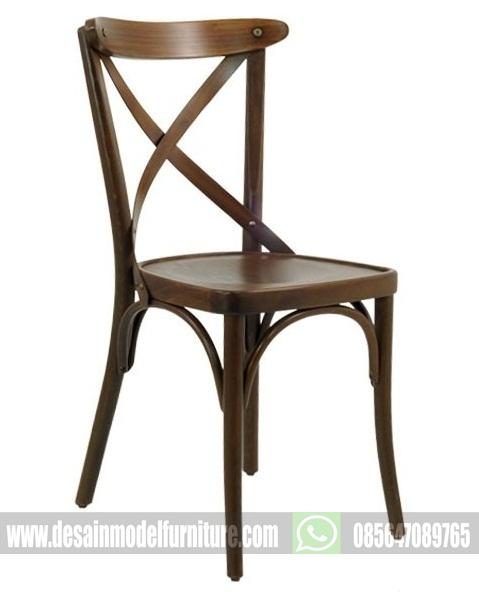 kursi makan untuk cafe model koboy