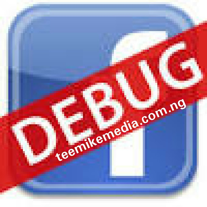 How to test your website/blog link on Facebook debugger