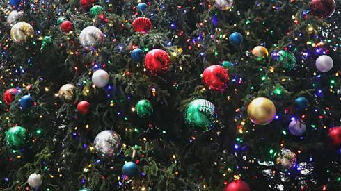 Wall Street NYSE Christmas