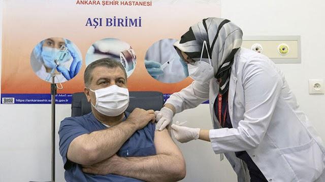 600 000 Kişiye Aşı yapıldı