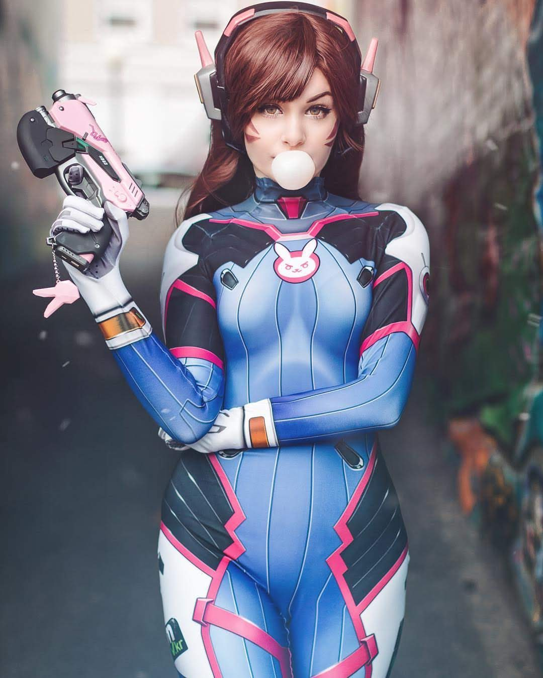 Cosplay D.VA - Overwatch P5