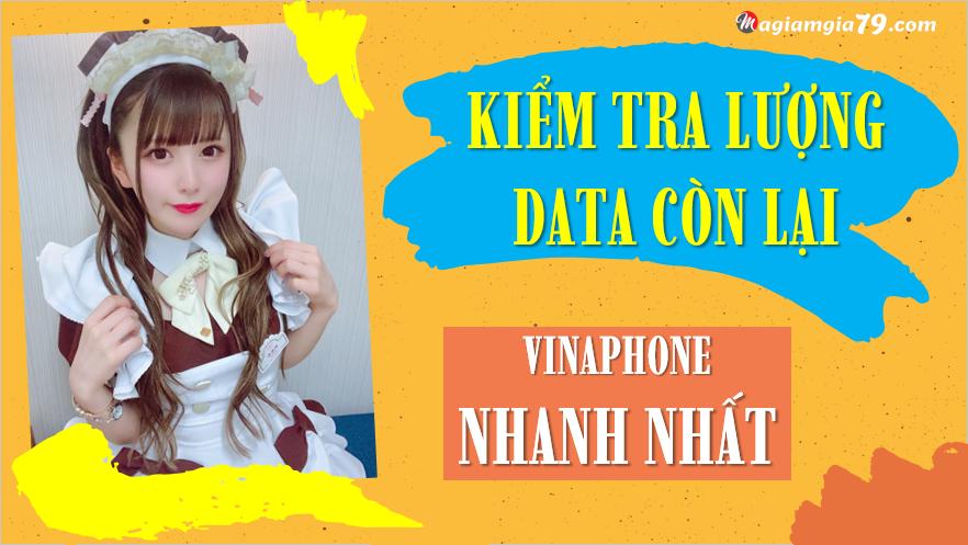 Kiểm tra dung lượng data vinaphone