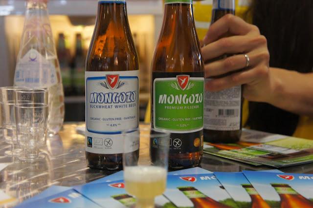 Pilsener und Buchweizen Bier von Mongozo