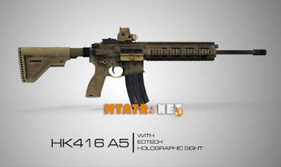 HK416A5 Assault Rifle
