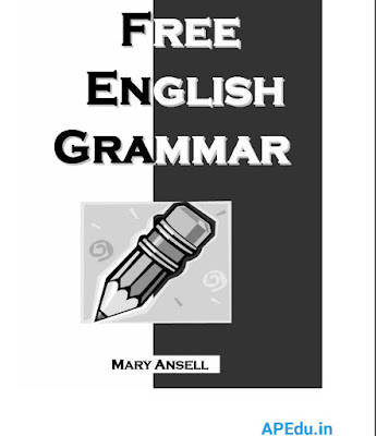 Free English grammar book