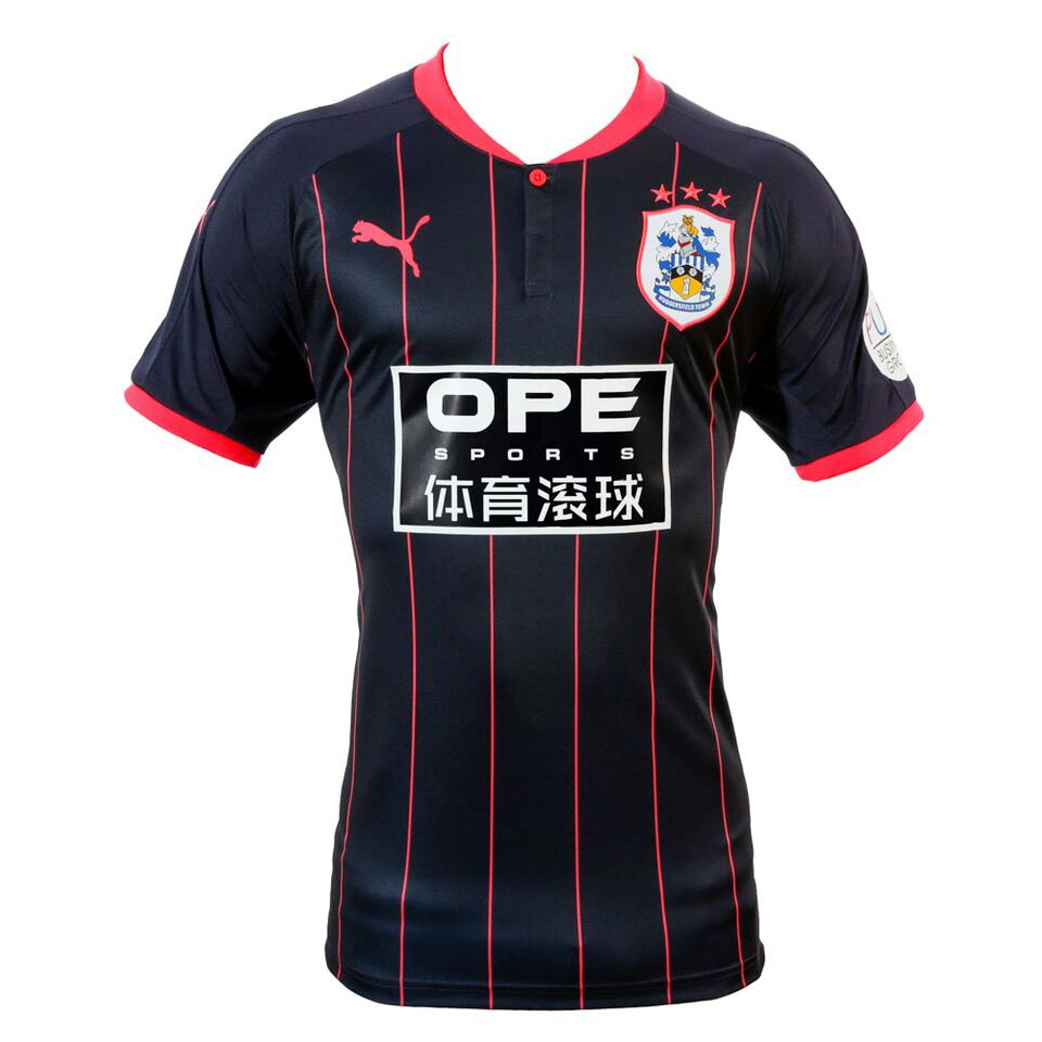 Navy Pink Huddersfield Town 17 18 Away Kit Released