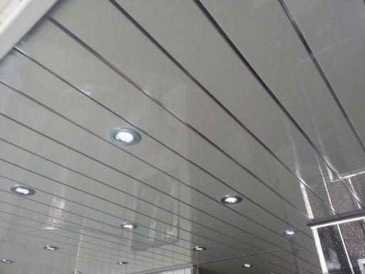 Techos PVC Blanco Brillante